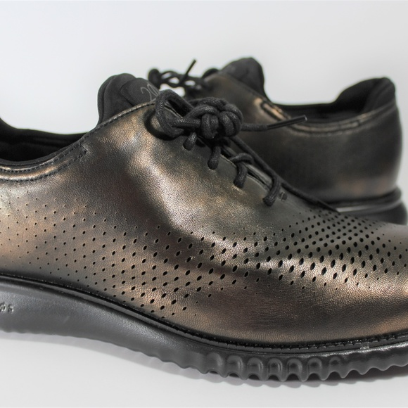 """Black White Men/'s Wing Tip Lace Up Oxford Dress Shoes /""""Floor Sample /"""""""